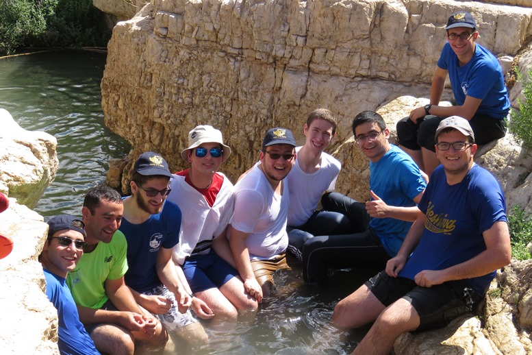 Hike in Wadi Kelt